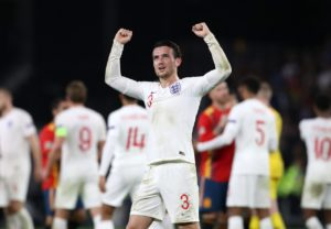 Leicester City's Ben Chilwell says a loan spell at Huddersfield Town helped transform him into an England player.