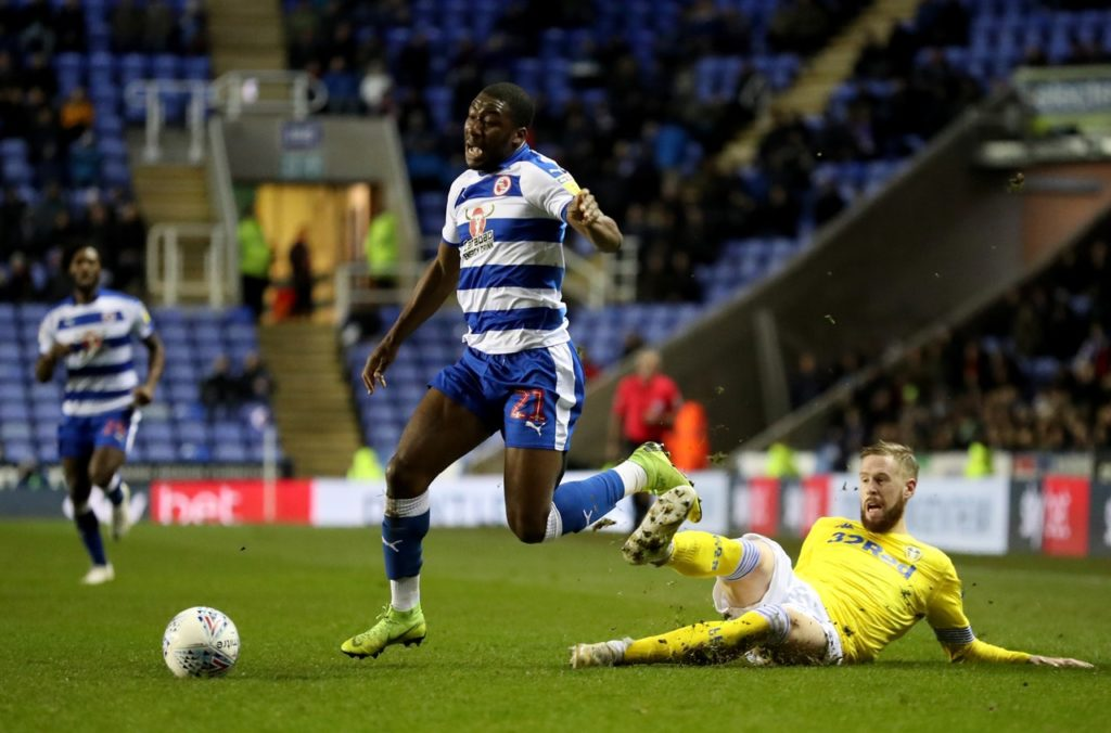 Yakou Meite is set to make his second Reading start in four days when the Royals face West Brom.