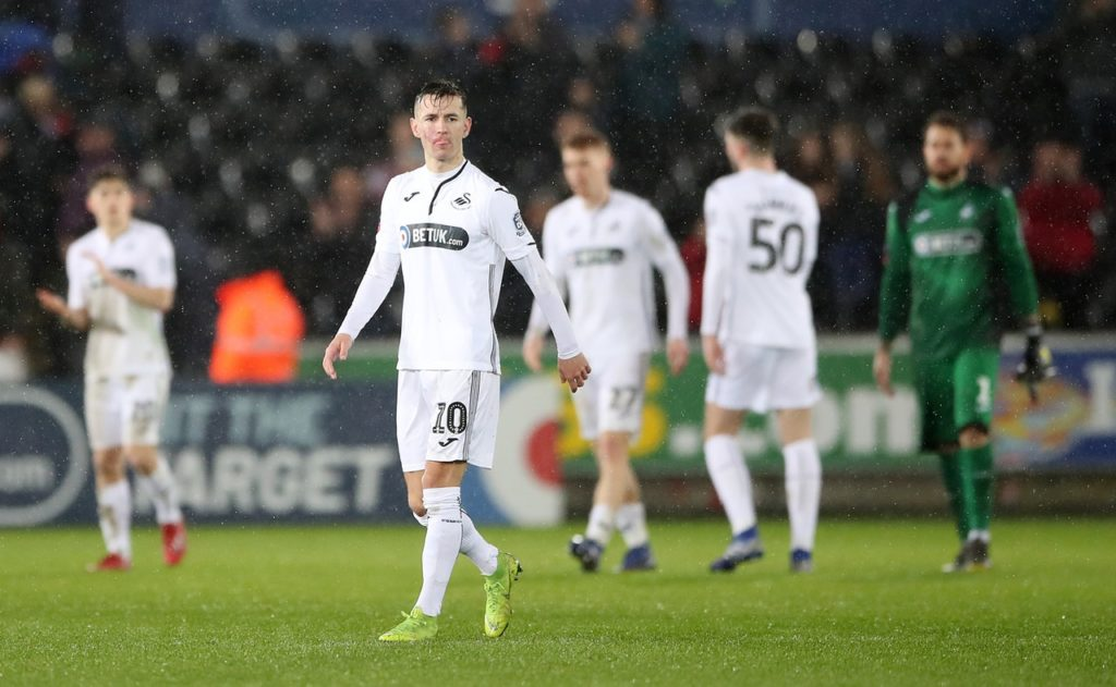 Swansea will be without Bersant Celina for the Good Friday visit of relegation-threatened Rotherham.