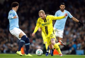 Burton boss Nigel Clough hopes striker Liam Boyce will not be facing a long spell of rehabilitation from an ankle injury.