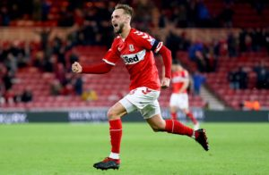 Middlesbrough midfielder Lewis Wing is a doubt for Tuesday night's Sky Bet Championship clash with Bristol City.