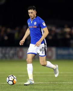 Ethan Hamilton fired a precious 82nd minute winner as Rochdale eased their League One relegation fears with a 1-0 win at Bristol Rovers.