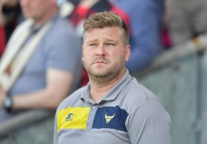 Oxford manager Karl Robinson hailed hat-trick hero Gavin Whyte after his 10-man side hit back in style to win 3-2 at Shrewsbury.