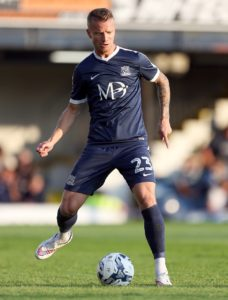 Jason Demetriou has been ruled out of Southend's relegation battle with a season-ending knee injury.