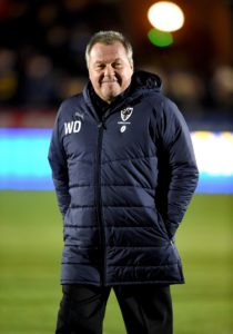 AFC Wimbledon boss Wally Downes was delighted his team got what he felt they deserved from a dogged and resolute performance against in-form Oxford.