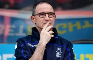 Nottingham Forest boss Martin O'Neill will be forced to make changes for his side's Easter Monday clash with Middlesbrough.