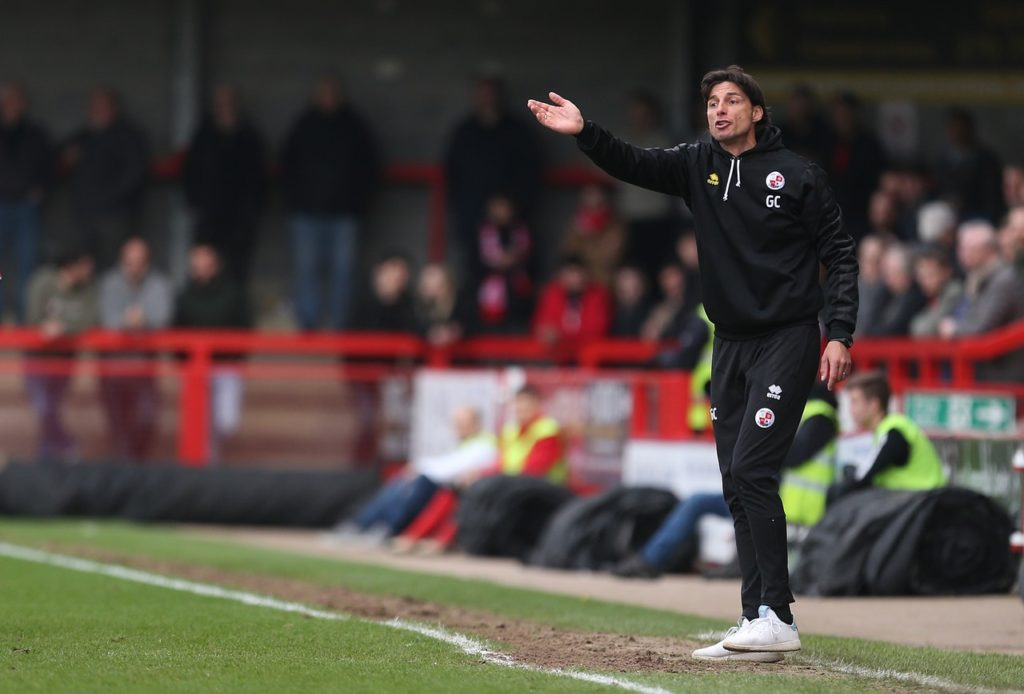 Crawley manager Gabriele Cioffi praised his side's resilience after they beat second-bottom Yeovil 1-0 in what he described as a relegation 'nine-pointer'.
