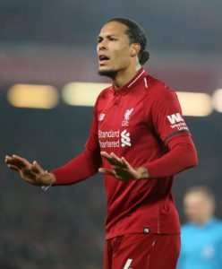 Liverpool defender Virgil van Dijk has called on the squad to kick on in the final weeks of the season as they look to make history.