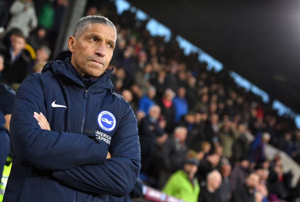 Chris Hughton believes Brighton will be keen to 'prove a point' against fellow strugglers Cardiff after the heavy loss to Bournemouth.