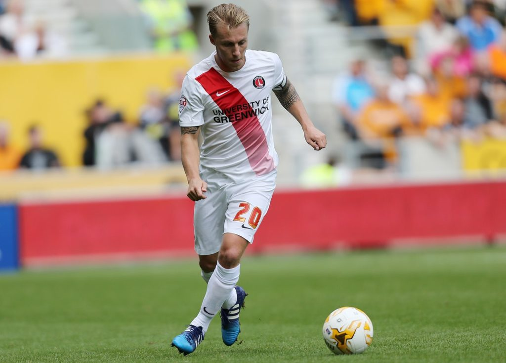 Chris Solly will miss Charlton's League One clash with Scunthorpe unless the club appeal against his red card at Oxford.