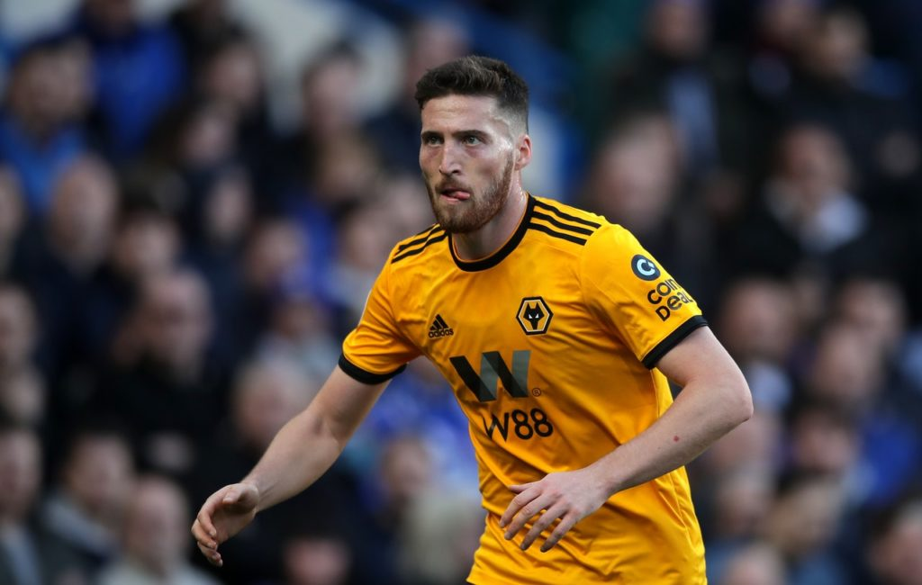 Wolves wing-back Matt Doherty says he is enjoying his role and is happy to be competing in the Premier League.