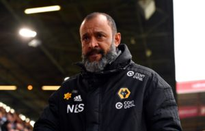 Wolves boss Nuno Espirito Santo thanked the fans for getting behind the squad during Wednesday's victory over Arsenal.