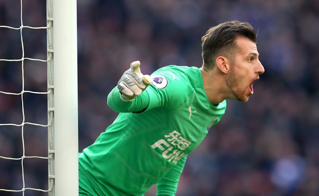 Newcastle keeper Martin Dubravka has urged his teammates to push for a top-10 Premier League finish in the final weeks of the season.