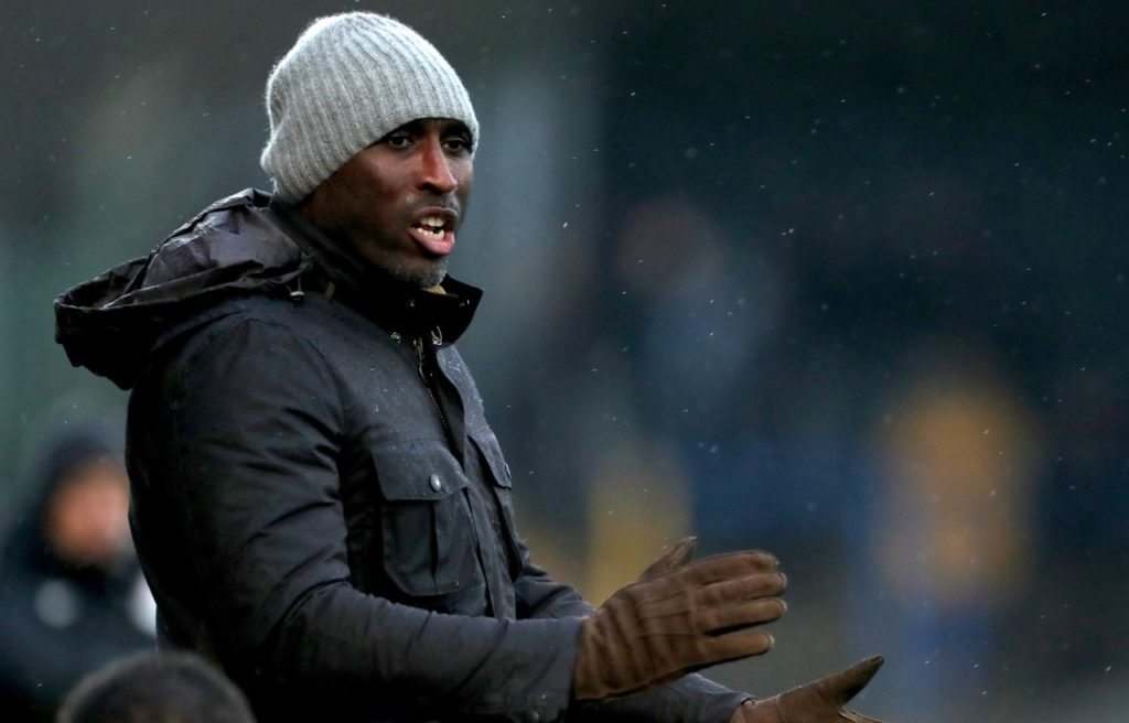 Macclesfield boss Sol Campbell praised his relegation battlers after a 0-0 draw against Newport.