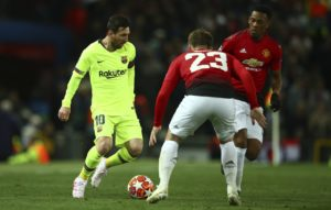 Barcelona boss Ernesto Valverde says Lionel Messi is fully fit for the Champions League visit of Manchester United on Tuesday.
