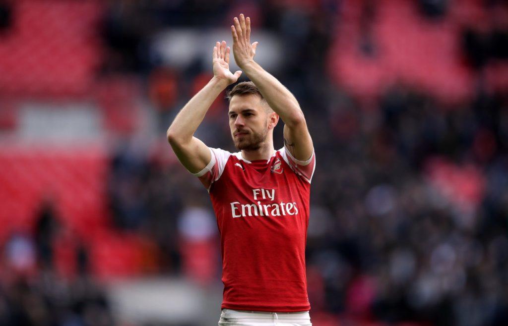 An Aaron Ramsey strike and Kalidou Koulibaly's own goal secured victory for Arsenal against Napoli in their Europa League quarter-final first leg.