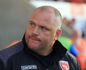 Morecambe boss Jim Bentley was left frustrated after a late Grimsby goal denied his side a fourth successive home win.