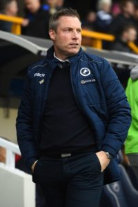 Manager Neil Harris hailed Millwall's spirit after a goalless draw with Stoke helped secure Championship football for another year.