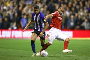 Marco Matias struck twice as Sheffield Wednesday kept their play-off ambitions alive with a 3-0 Sky Bet Championship victory over Nottingham Forest.