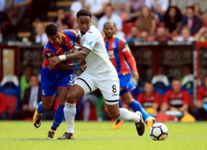 Swansea are without Leroy Fer as Derby seek to take a giant step towards securing a Sky Bet Championship play-off place.