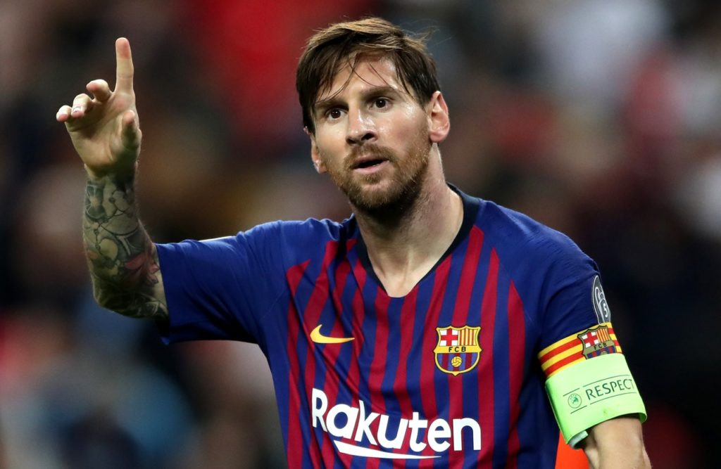 President Josep Maria Bartomeu says he wants to tie Lionel Messi down to a new deal that will see him finish his career at Barcelona.