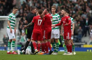 Scott McKenna admits Aberdeen lost their heads as they surrendered any chance of halting Celtic's triple treble drive.