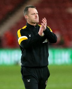 Michael Flynn was full of praise for his Newport side after their 3-0 win at Cambridge kept their Sky Bet League Two play-off hopes alive.