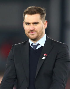 Carlisle's Sky Bet League Two play-off hopes were dealt a big blow as Joe Grayson's last-minute strike saw them fall to a 1-0 defeat at Grimsby.