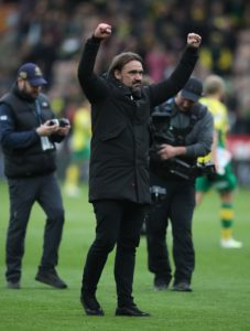 Daniel Farke said he is 'unbelievably proud' of his Norwich side after seeing them thrash QPR 4-0 to make it eight successive wins.