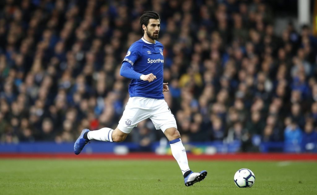 Everton's Andre Gomes has been charged with violent conduct after his tackle on Aleksandar Mitrovic during Saturday's Premier League defeat at Fulham.