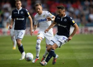 Leeds will have to check on the fitness of Barry Douglas ahead of their clash with Birmingham at the weekend.
