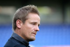 Neal Ardley insists Notts County's players are battling hard to avoid dropping out of the English Football League despite limping to a tame 3-0 loss at Crewe.