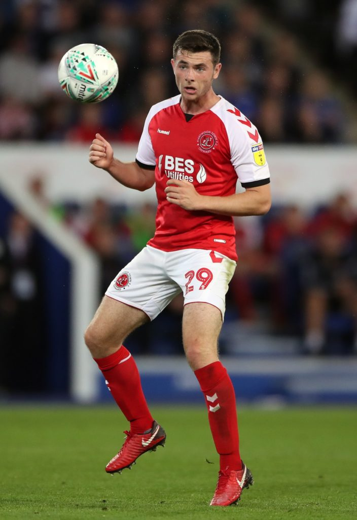 Fleetwood are without the suspended duo of Nathan Sheron and Harry Souttar at home to Bristol Rovers.