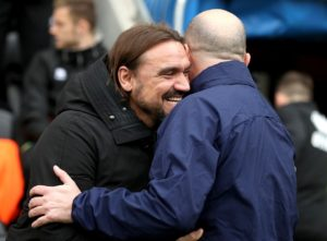 Norwich manager Daniel Farke admitted the 1-1 Sky Bet Championship draw at Wigan was a 'good point' as the race for promotion heads to an exciting climax.