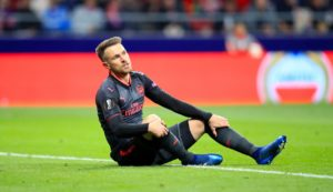 Arsenal will be without Aaron Ramsey for Sunday's Premier League clash against Crystal Palace at the Emirates.