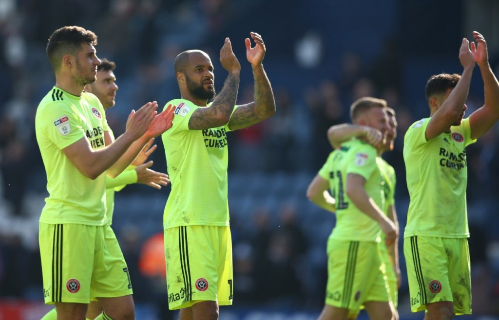 David McGoldrick's 13th league goal of the season took Sheffield United back into the automatic promotion spots with a 1-0 win at play-off chasing Preston.