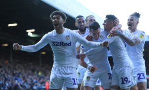 Jack Harrison hit the winner as Leeds beat Sheffield Wednesday 1-0 to open up a three-point cushion on Sheffield United in the race for the Premier League.