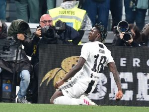 Juventus manager Massimiliano Allegri claims Moise Kean can still 'improve mentally' despite stepping off the bench to score in the 2-1 win against AC Milan.