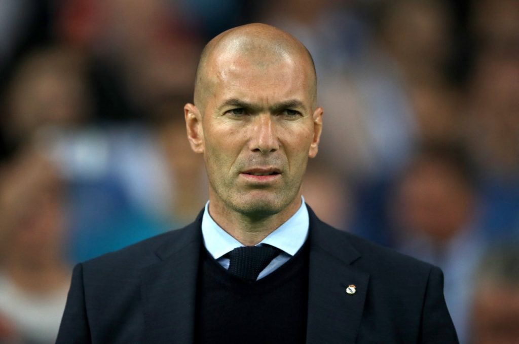 Zinedine Zidane expects a number of Real Madrid's first-team players to leave the club this summer.