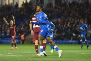 Ivan Toney scored twice as Peterborough beat Portsmouth 3-2 to end the hosts' dream of automatic promotion and keep alive their own play-off hopes.