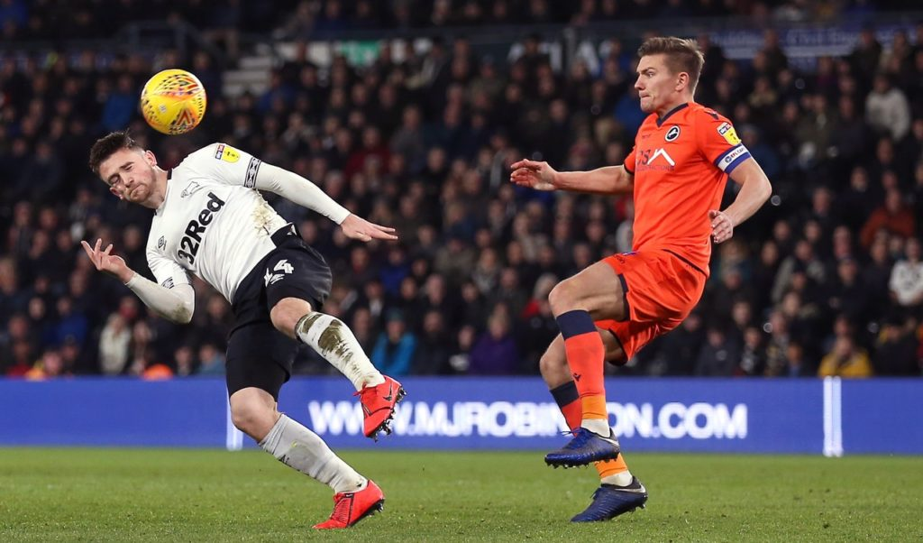 Millwall defender Shaun Hutchinson is expected to miss out again for the Sky Bet Championship match against Brentford.
