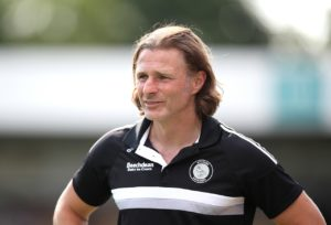 Gareth Ainsworth has set his Wycombe side a target of two wins from their last three games to avoid relegation following a 1-0 defeat at Rochdale.