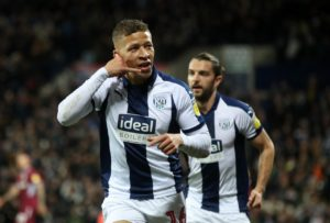 West Brom striker Dwight Gayle grabbed a match-winning double to secure a 3-2 Sky Bet Championship victory against Hull at the Hawthorns.