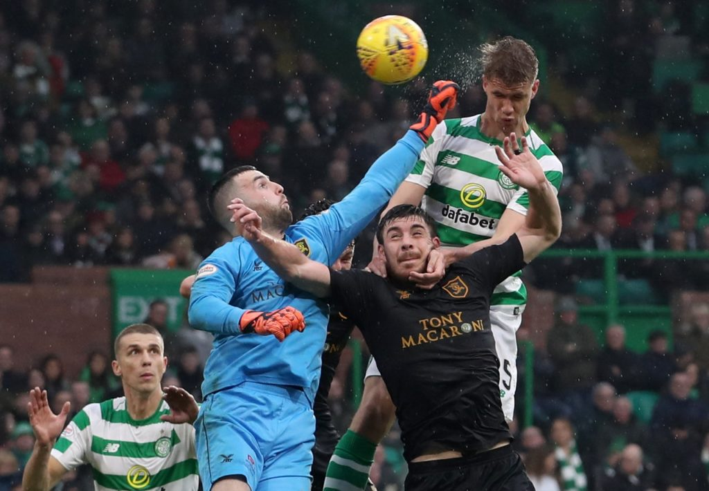 Celtic manager Neil Lennon believes his team should be more direct at times after they were held to a goalless home draw by Livingston.