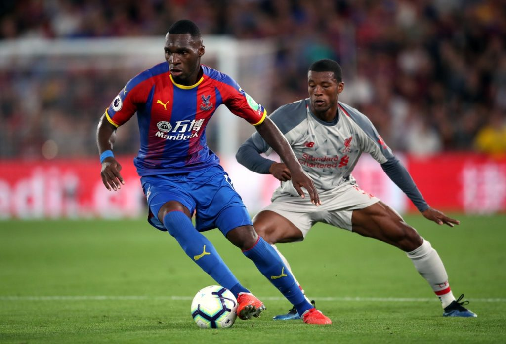 Christian Benteke is 'happy' to be back fit and he is targeting a strong finish to the Premier League season with Crystal Palace.