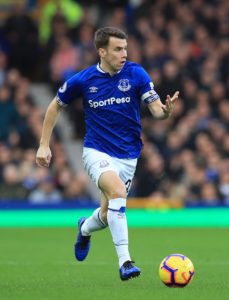 Everton defender Seamus Coleman says they need to bounce back against Manchester United as they look to finish seventh in the table.