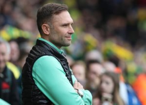 John Eustace insisted there was no prospect of him being given the QPR manager's job despite presiding over the 4-0 Sky Bet Championshp thrashing of Swansea.