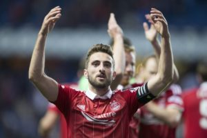 Derby County are reportedly in talks to sign Aberdeen captain Graeme Shinnie when his contract expires at the end of the season.