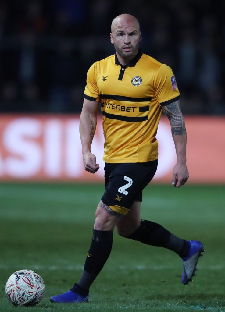 Newport right-back David Pipe has announced he will retire from football at the end of the season.