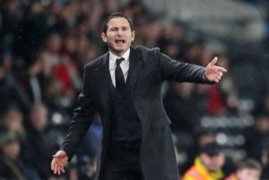 Frank Lampard has urged his Derby players to rediscover the winning habit quickly as they bid to earn a play-off place.